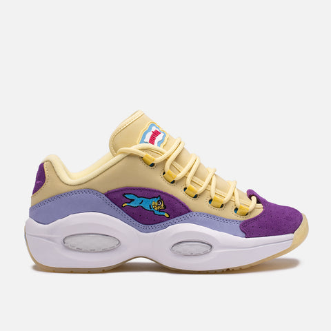 "BBC ICECREAM X REEBOK QUESTION LOW ""RUNNING DOG"" - PURPLE"