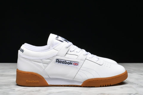 WORKOUT LOW - WHITE/GUM