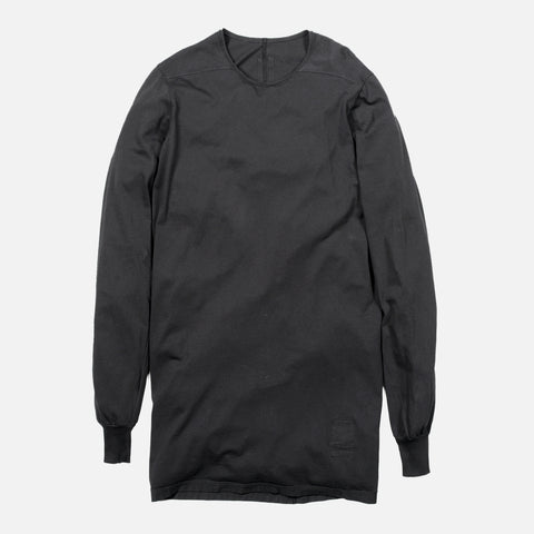 DRKSHDW LONG SLEEVE LEVEL TEE - BLACK