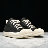 DRKSHDW LOW TOP LACE UP - BLACK