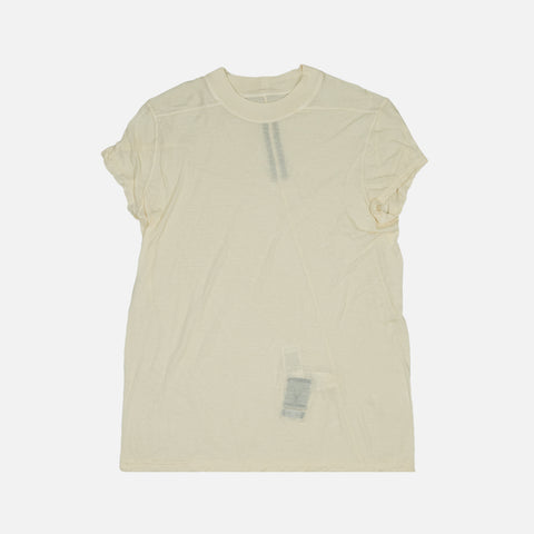 DRKSHDW LEVEL SHORT TEE - NATURAL
