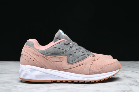 GRID 8000 - SALMON / CHARCOAL