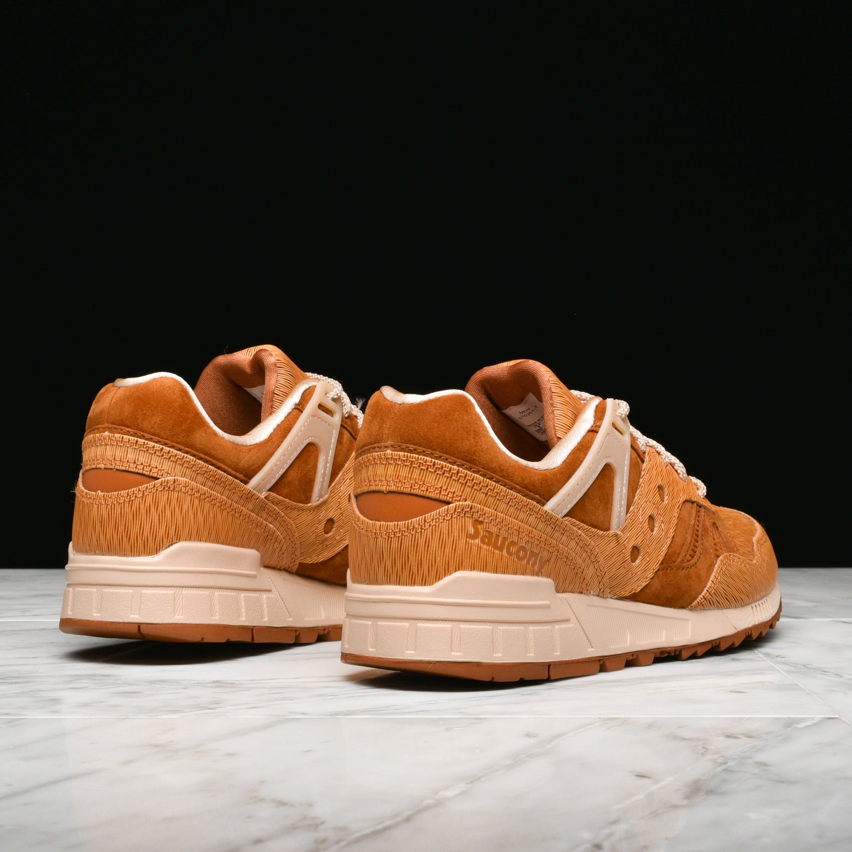 "GRID SD HT ""WOODBURN"" - TAN / BROWN"