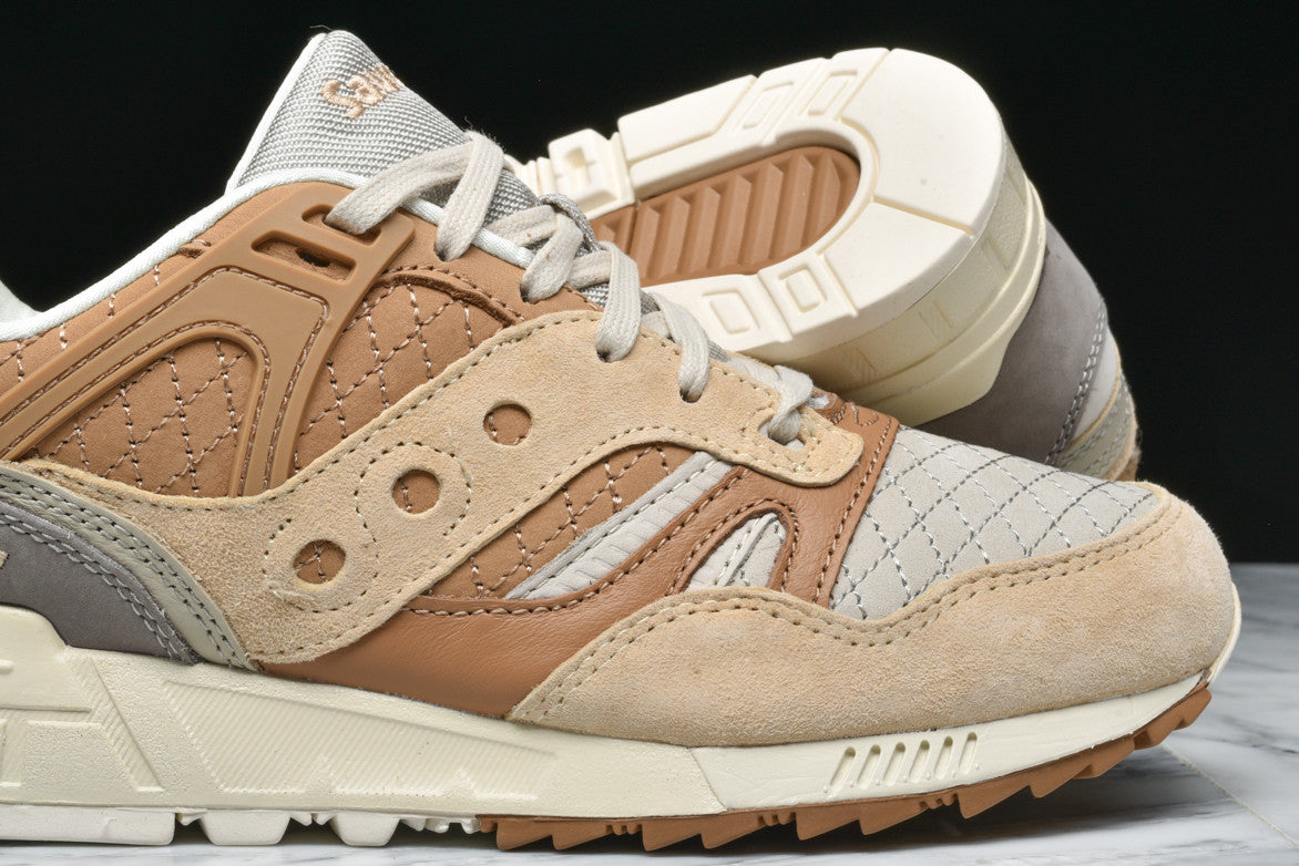 GRID SD QUILTED - TAN