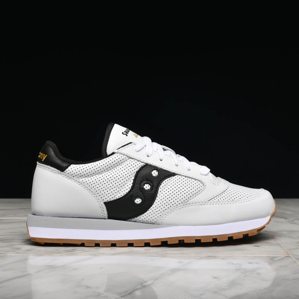 best sneakers 83703 a4f11 JAZZ ORIGINAL LEATHER - WHITE / BLACK