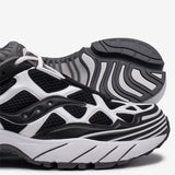 WHITE MOUNTAINEERING X SAUCONY GRID WEB - BLACK / WHITE