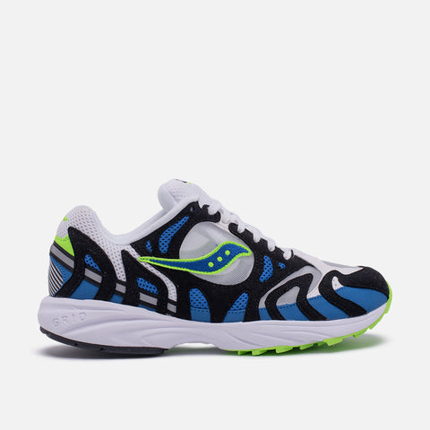 GRID AZURA 2000 - WHITE / BLUE / LIME