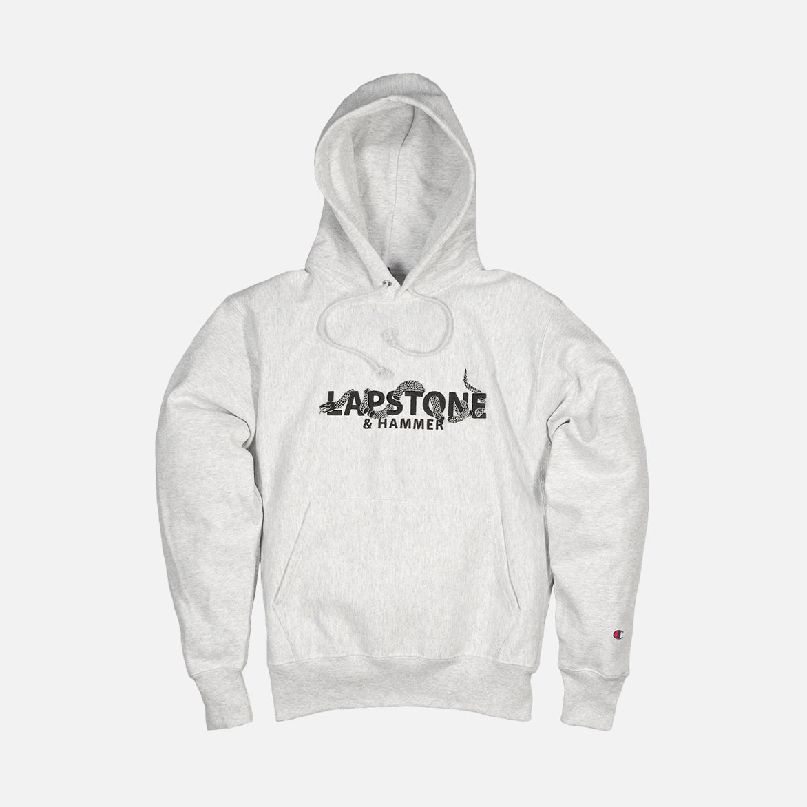 "LH ""UNITE"" HOODIE - WHITE HEATHER"