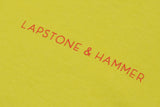 L&H SUMMER SHOP TEE - YELLOW