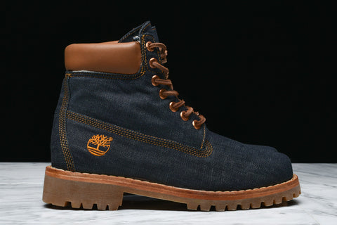 "TIMBERLAND x WHITE OAK DENIM 6"" PREMIUM LIMITED RELEASE BOOT - INDIGO"