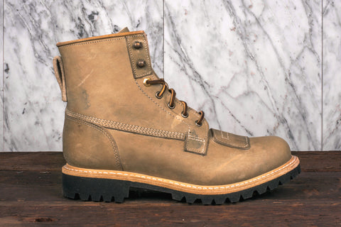 6IN LINEMAN BOOT - GREEN