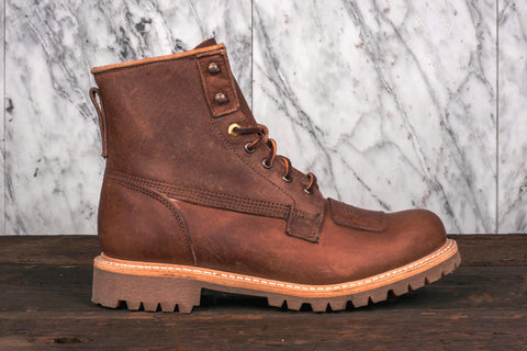 6IN LINEMAN BOOT - MEDIUM BROWN