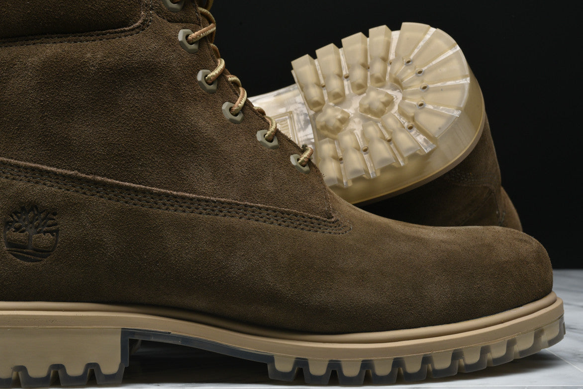 LIMITED RELEASE 6 INCH PREMIUM SUEDE BOOT - OLIVE