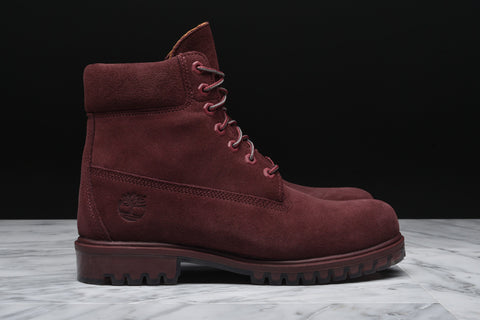 LIMITED RELEASE 6 INCH PREMIUM SUEDE BOOT - DARK PORT
