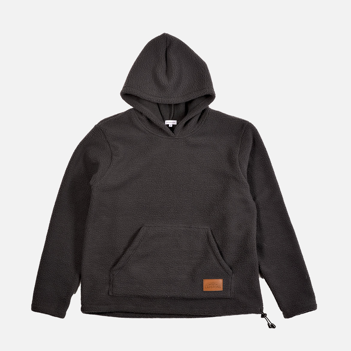 TWO RIVERS SHERPA HOODIE - GRAPHITE