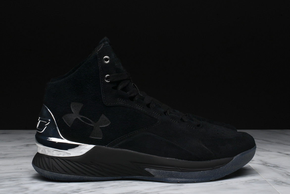 CURRY 1 LUX MID SUEDE - BLACK