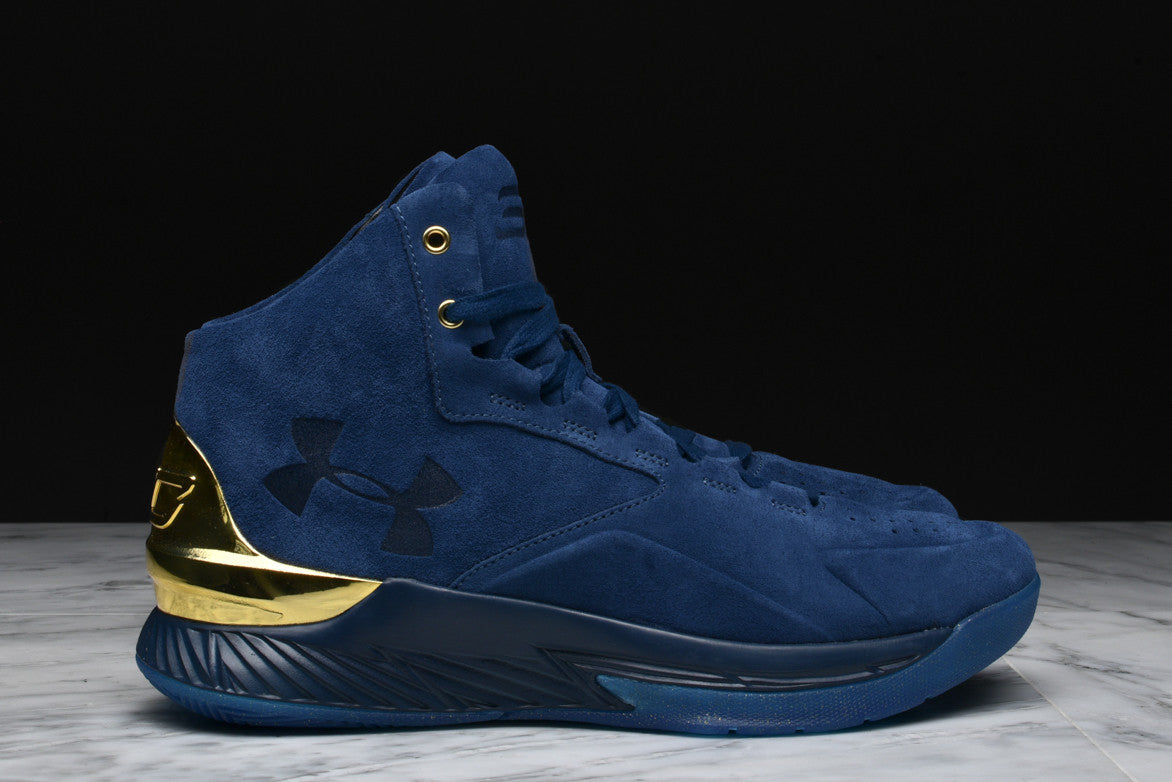 CURRY 1 LUX MID SUEDE - BLUE  02aaae3663a0