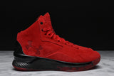 CURRY 1 LUX MID SUEDE - RED