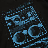 RECORDS T-SHIRT - BLACK