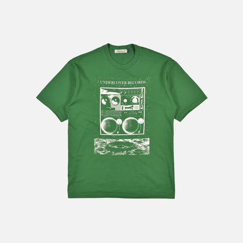 RECORDS T-SHIRT - GREEN