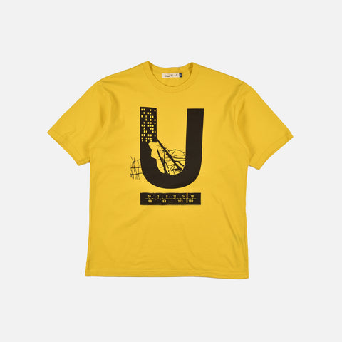 U T-SHIRT - YELLOW