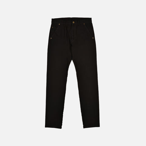 COTTON BLEND JEANS - BLACK