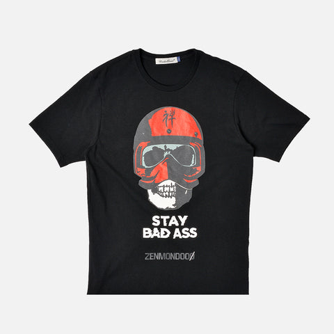 STAY BADASS TEE - BLACK