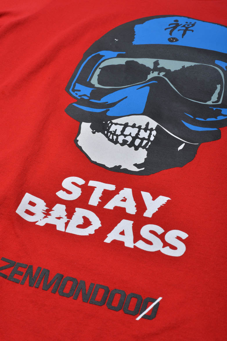 STAY BADASS TEE - RED