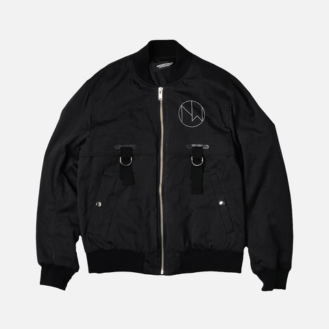 NEW WARRIORS BOMBER JACKET - BLACK