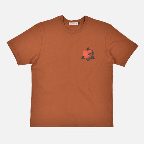 LOW ORDER TEE - BROWN