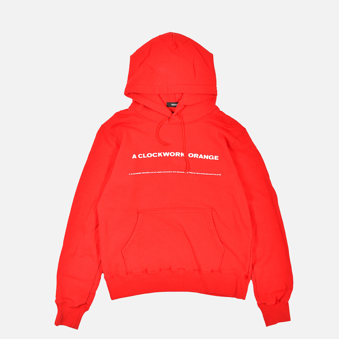 A CLOCKWORK ORANGE HOODIE - RED