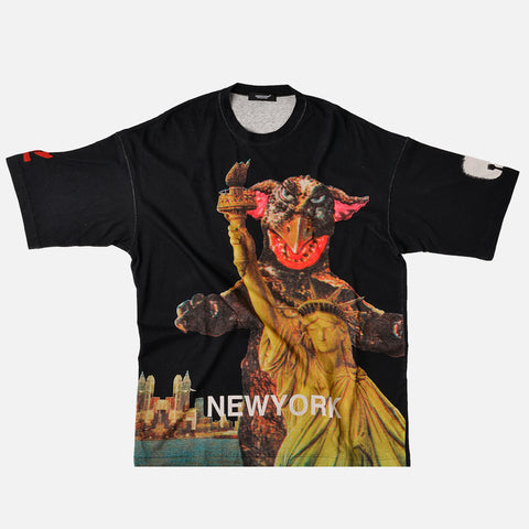 "MONSTER PRINT TEE ""NEW YORK"" - BLACK"