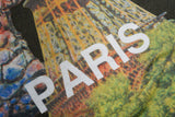 "MONSTER PRINT TEE ""PARIS"" - KHAKI"