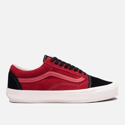 VANS VAULT OG OLD SKOOL LX SUEDE - CHILI PEPPER / BLACK