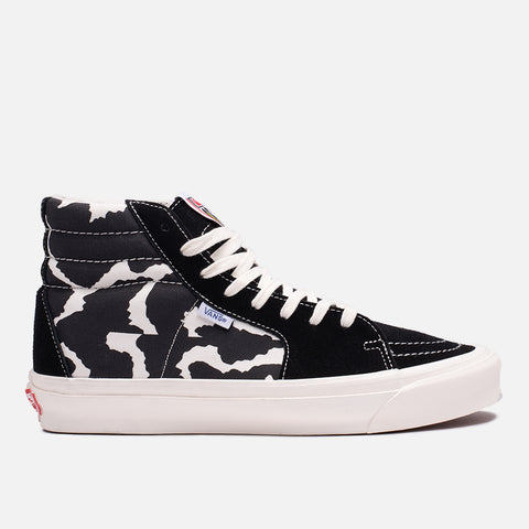 VANS VAULT OG STYLE 38 NS LX (ANIMAL PRINT) - COW / BLACK