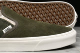 "CLASSIC SLIP-ON ""SHERPA SUEDE"" - GRAPE LEAF"