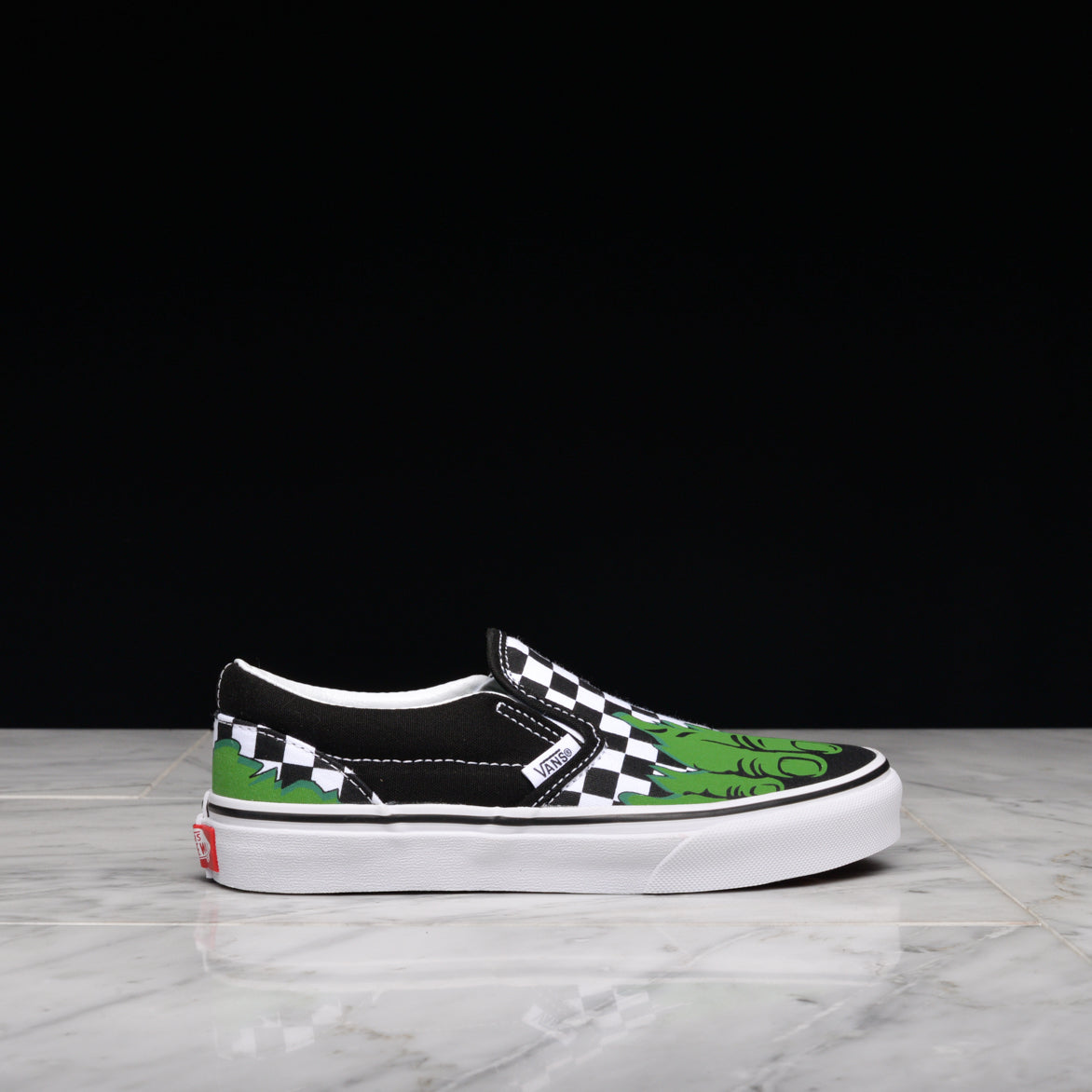 MARVEL x VANS CLASSIC SLIP-ON (KIDS) - INCREDIBLE HULK ... d90419052