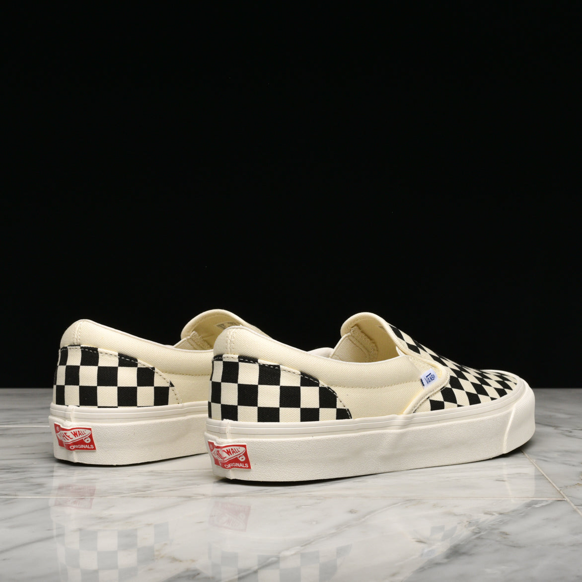 OG CLASSIC SLIP-ON LX - CHECKERBOARD