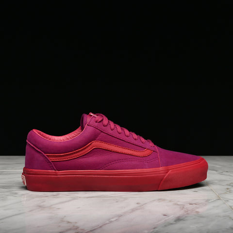 VANS VAULT OG OLD SKOOL LX (NUBUCK/LEATHER) - RASPBERRY