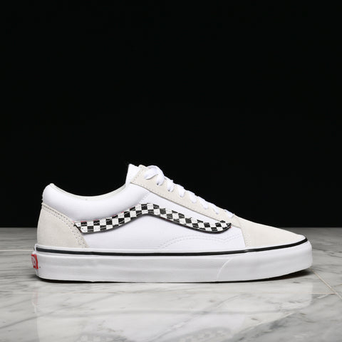 "OLD SKOOL ""VELCRO SIDESTRIPE"" - WHITE"
