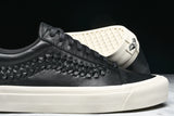 OLD SKOOL WEAVE DX LEATHER - BLACK