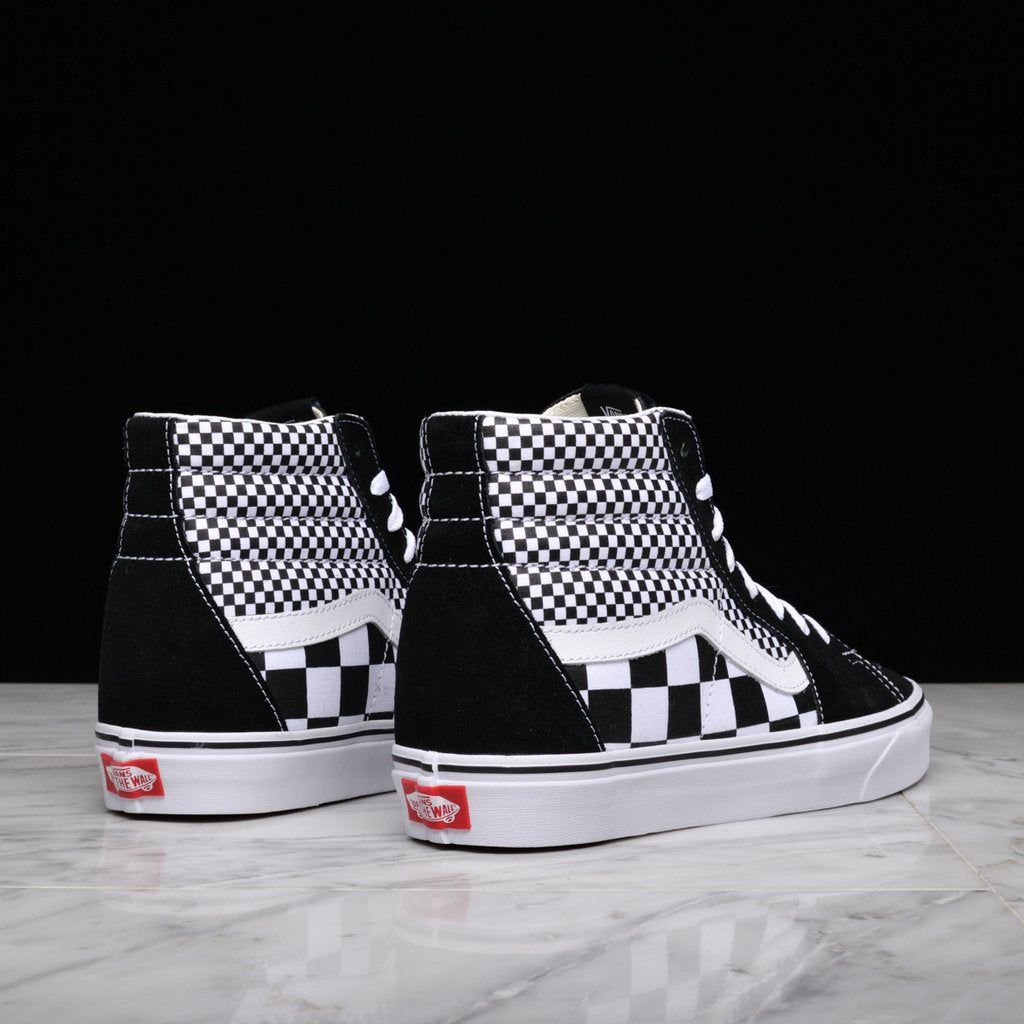 "SK8-HI ""MIX CHECKER"""
