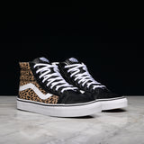 "SK8-HI REISSUE ""CALF HAIR"" - MULTI / WHITE"