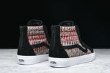 SK8-HI WOVEN REISSUE ZIP DX - BLACK / MULTI