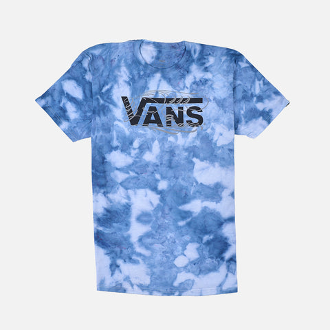 LAPSTONE X BJ BETTS VANS MAKERS TEE - NAVY