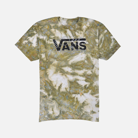 LAPSTONE X BJ BETTS VANS MAKERS TEE - OLIVE