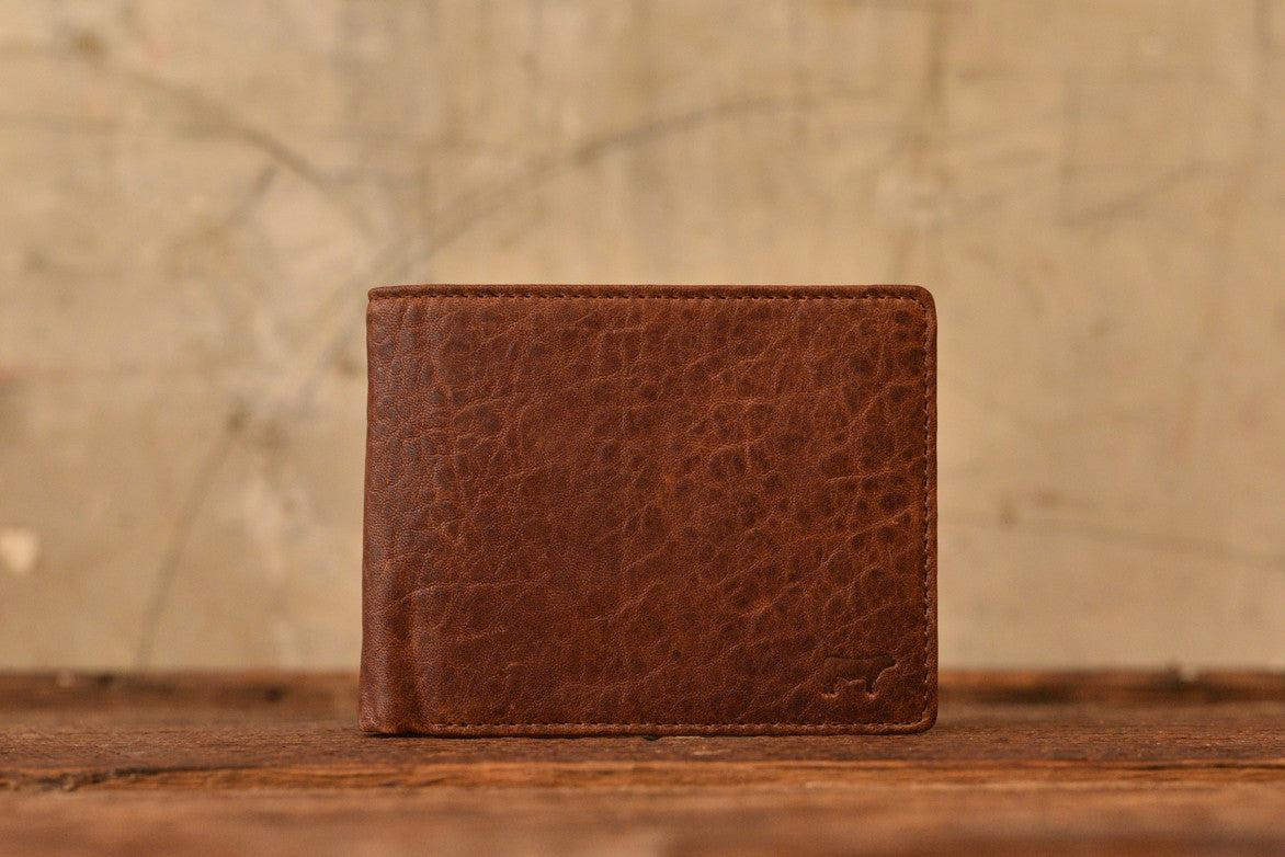 MARVEL BILLFOLD - COGNAC / RUST
