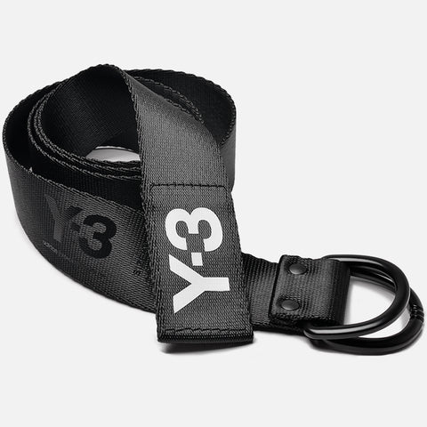 LOGO BELT - BLACK / WHITE
