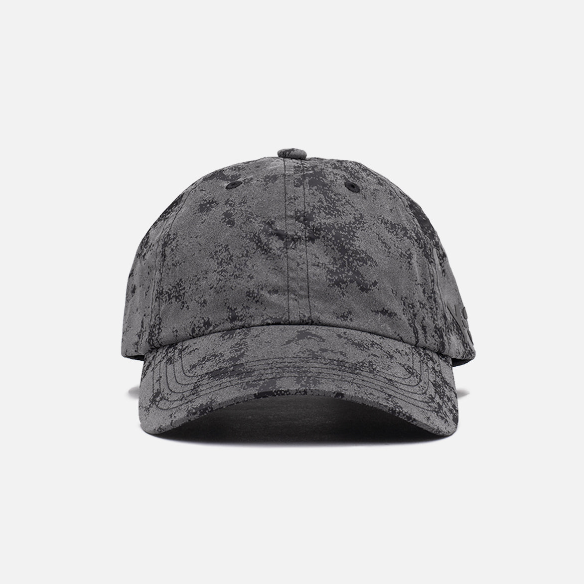 CH1 DISTRESSED REFLECTIVE CAP - BLACK