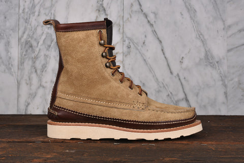 MAINE GUIDE DB BOOTS - FLESH OUT KHAKI